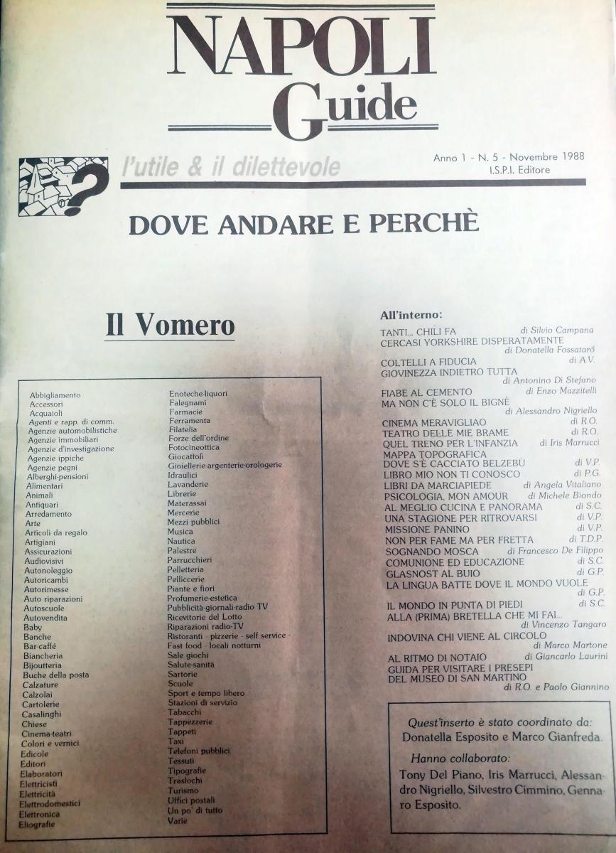 Rivista del 1988